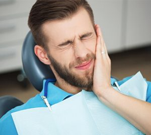 toothache - man in pain photo