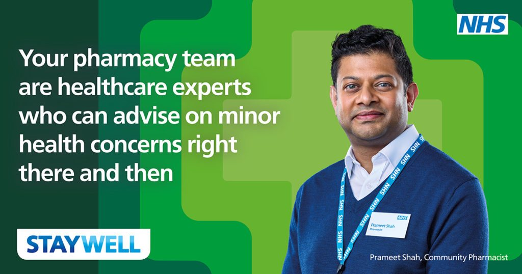 stay well - campaign for local pharmacy care