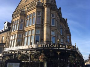 support anxious patients - Bettys tea rooms