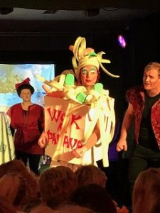 Stephen in panto