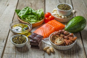protect tooth enamel shows a selection of health foods