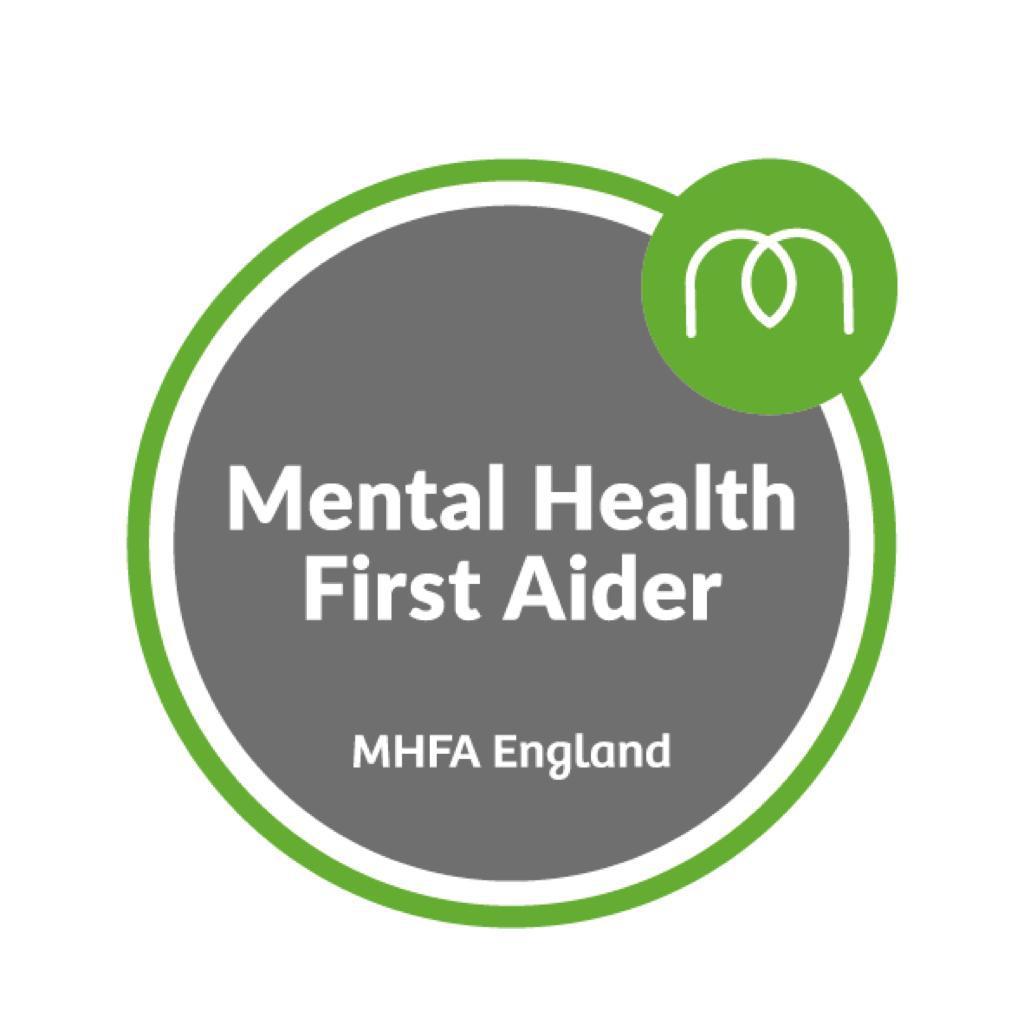 dentist Aryaan Khalid mental health first aid certificate