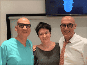 Implant dentist Kalina Borska SpaDental with colleagues
